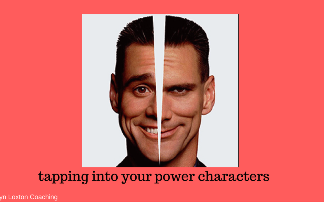 Tapping Into Your Power Characters